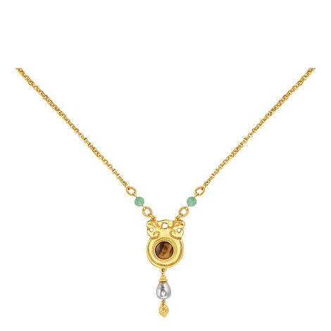 Tiger Eye Necklace, ${color}
