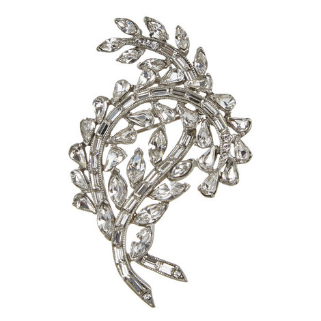 Crystal Branch Brooch, ${color}