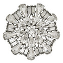 Crystal Round Pin, ${color}