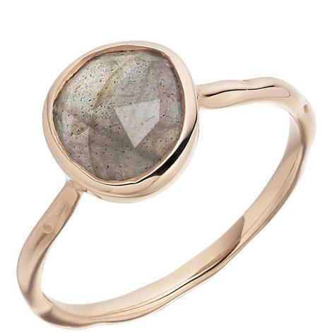 Siren Stacking Labradorite Ring, ${color}