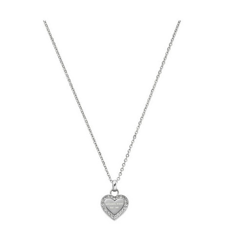 Heart Pendant Necklace, ${color}