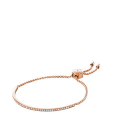 Pavé Rose Slider Bracelet