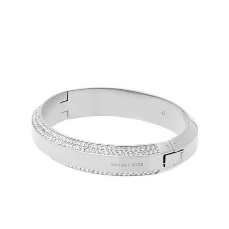 Pavé Crystal Bangle, ${color}