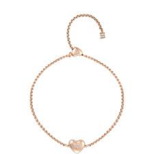 Heart Pendant Friendship Bracelet