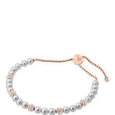 Glass Pearl Friendship Bracelet