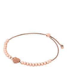 Pavé Heart Friendship Bracelet