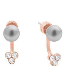 Crystal Cluster Stud Earrings