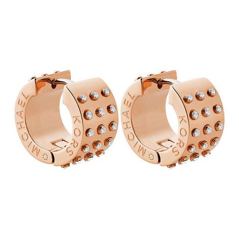 Hinged Hoop Earrings, ${color}