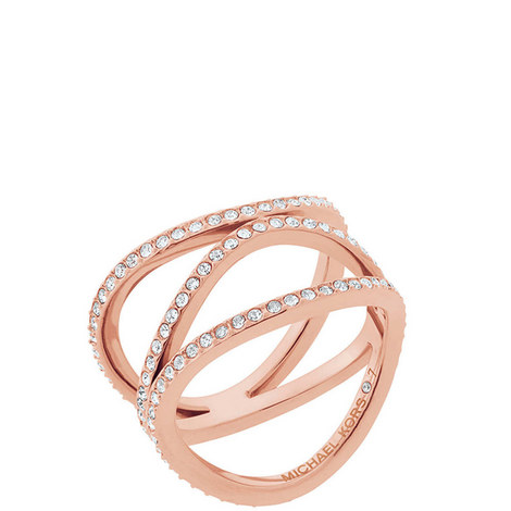 Crystal Disc Ring, ${color}