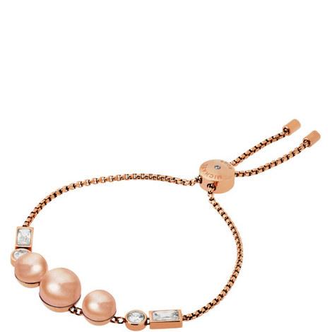 Pearl Slider Bracelet, ${color}