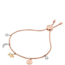 Celestial Charmed Slider Bracelet