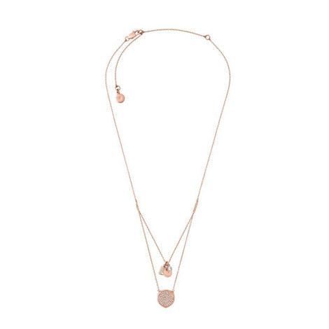 Crystal Drop Necklace, ${color}