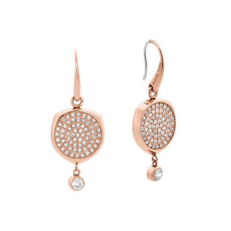 Crystal Drop Earrings, ${color}