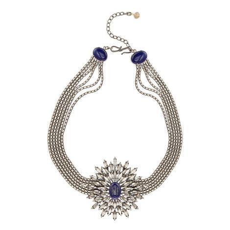 Lapis Stone Necklace Large, ${color}