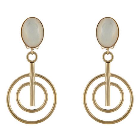 Open Sphere Drop Earrings, ${color}