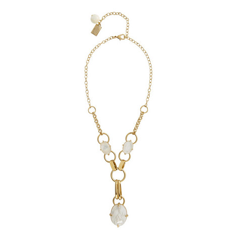 Mother-of-Pearl Pendant Necklace, ${color}