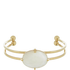 Mother-of-Pearl Cuff Bracelet