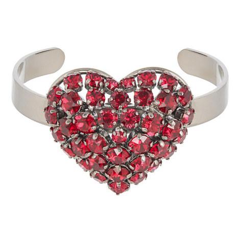 Heart Torque Bracelet, ${color}