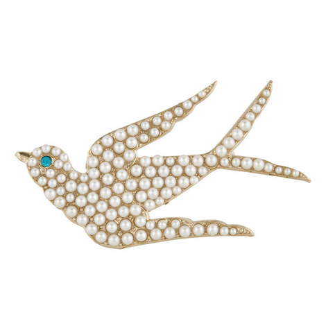 Swallow Pearl Pin, ${color}