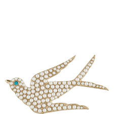Swallow Pearl Pin