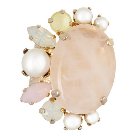 Stone Cluster Ring, ${color}