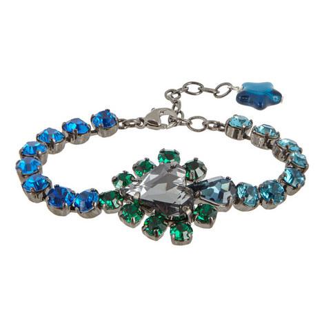 Faceted Crystal Bracelet, ${color}