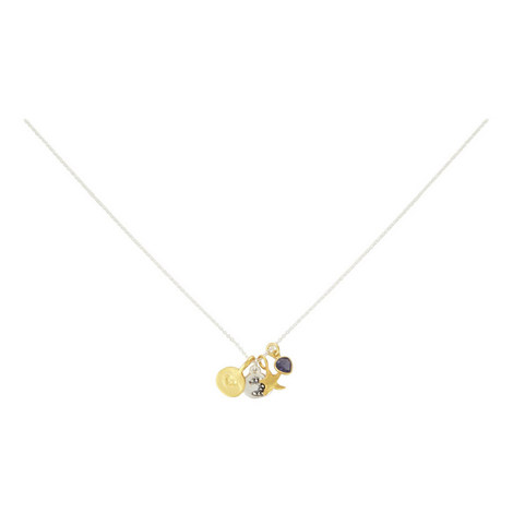 I Love You To The Moon Necklace, ${color}