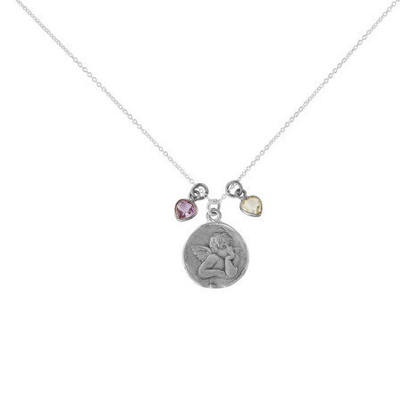Angel To Watch Over Necklace, ${color}