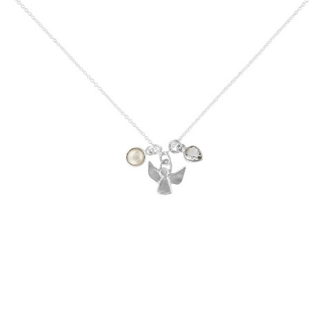 Guardian Angel Pearl Necklace, ${color}