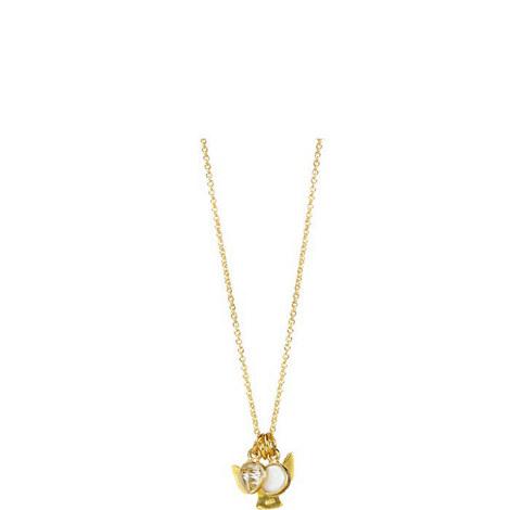 Guardian Angel Pendant Necklace, ${color}