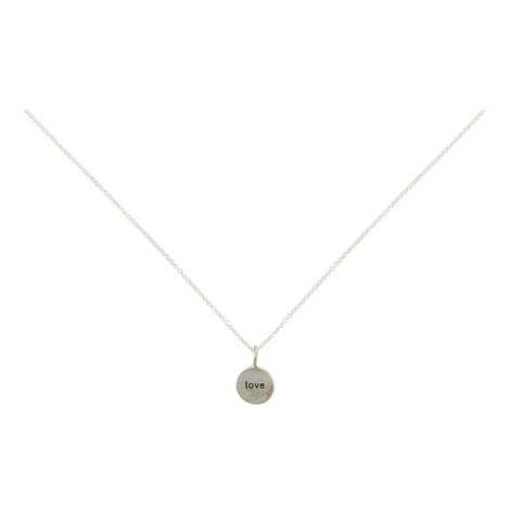 Love In A Circle Necklace, ${color}