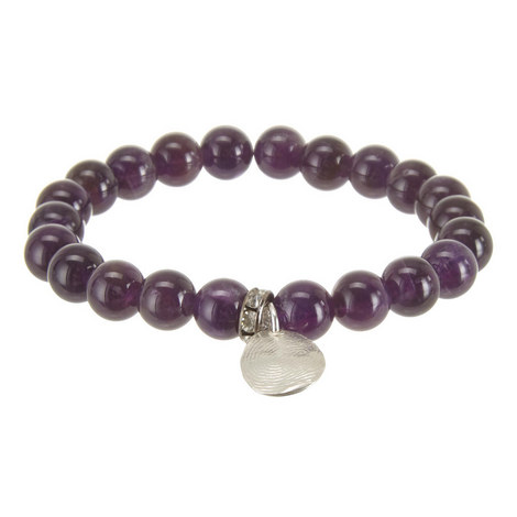 Fingerprint Locket Amethyst Bracelet , ${color}
