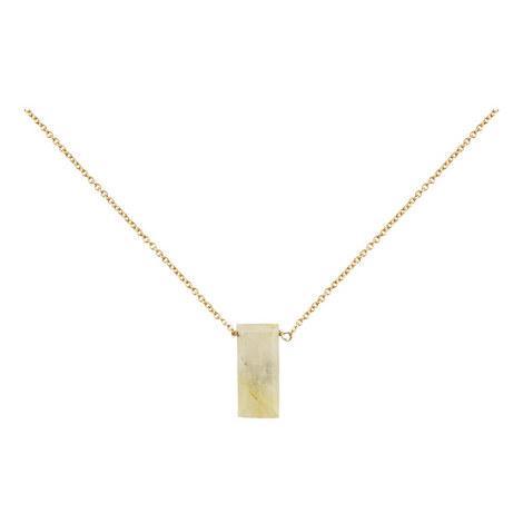 Rutil Quartz Necklace, ${color}