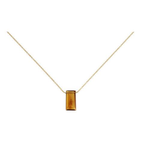 Quartz Stone Necklace, ${color}