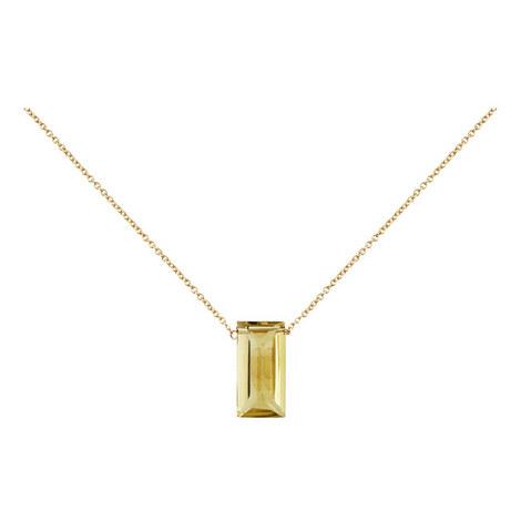 Lemon Quartz Necklace, ${color}