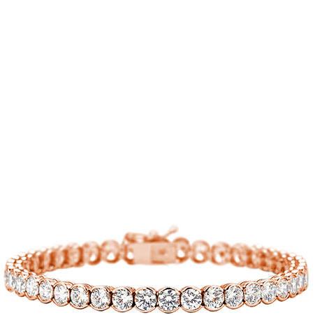 Finest Bezel Tennis Bracelet, ${color}