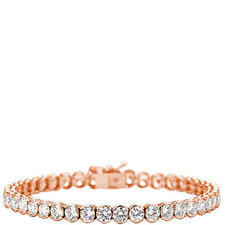 Finest Bezel Tennis Bracelet