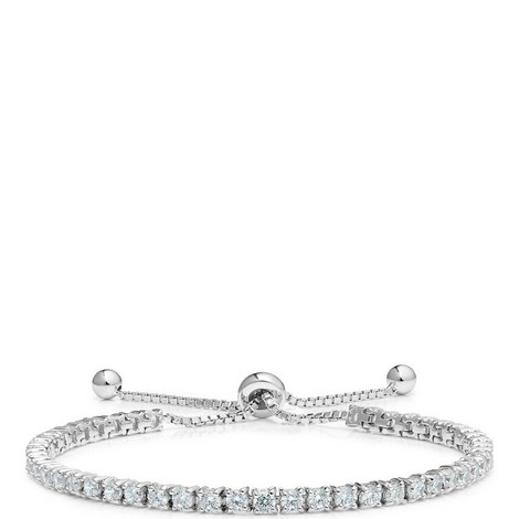Classic Toggle Tennis Bracelet, ${color}
