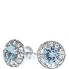 Gala Bezel Stud Earrings