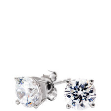Classic Brillant Stud 2ct Earrings