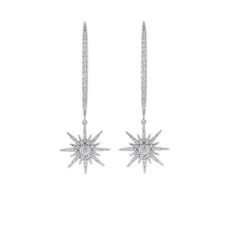 North Star Drop Earrings, ${color}
