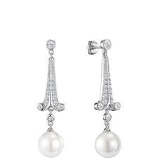 Belle Pearl Drop Earrings