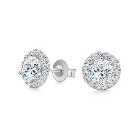 Solo Crystal Earrings, ${color}