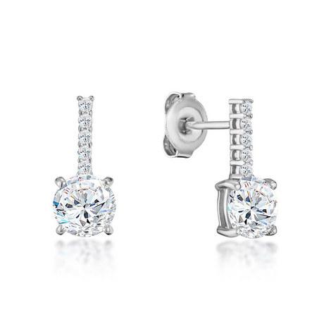 Ella Crystal Drop Earrings, ${color}