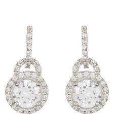 Cecila Round Drop Earrings