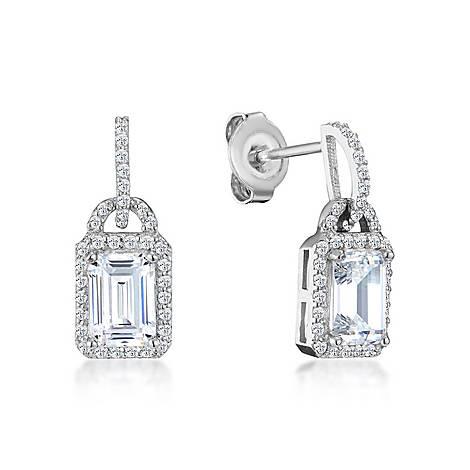Cecila Emerald Drop Earrings, ${color}