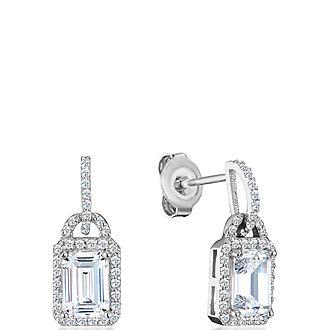 Cecila Emerald Drop Earrings