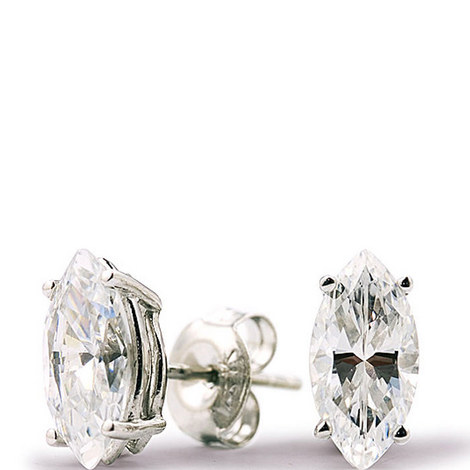 Marquise Stud Earrings, ${color}