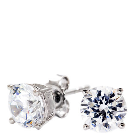 Classic Brilliant Stud 1.5ct Earrings, ${color}