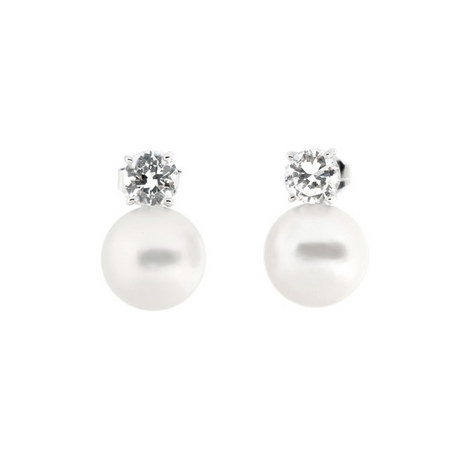 Pearl Drop Earring, ${color}